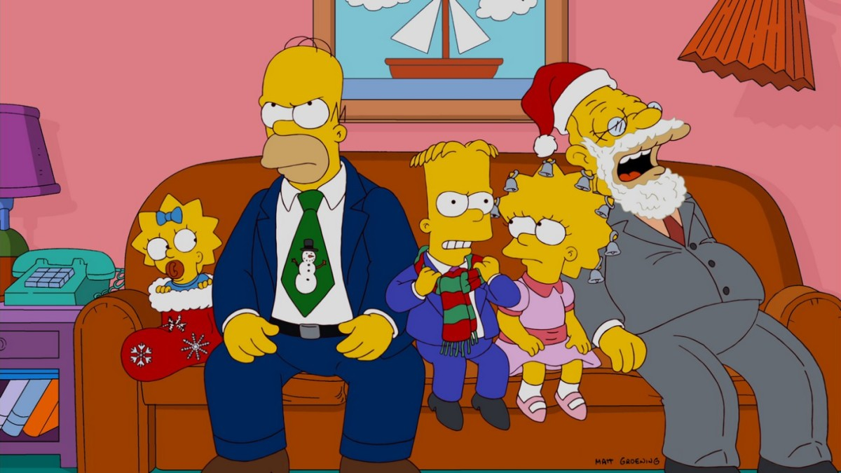 Los simpson the simpsons disfruta de las mejores for Divan familial